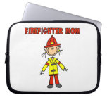 Firefighter Mom T-shirts and Gifts Laptop Sleeve