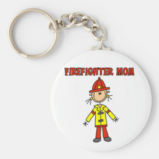Firefighter Mom Tshirts and Gifts Keychain