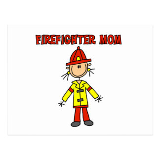Firefighter Mom Tshirts and Gifts Postcard