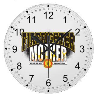 Firefighter Mother Wall Clock