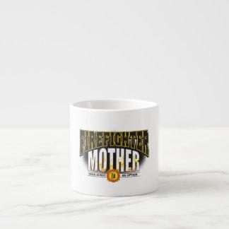Firefighter Mother 6 Oz Ceramic Espresso Cup