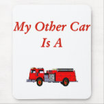 Firefighter Mouse Pad.