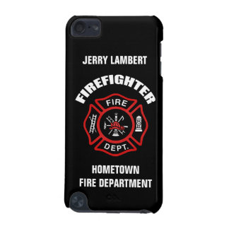 Firefighter Name Template iPod Touch 5G Case