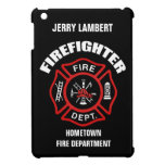 Firefighter Name Template iPad Mini Cover