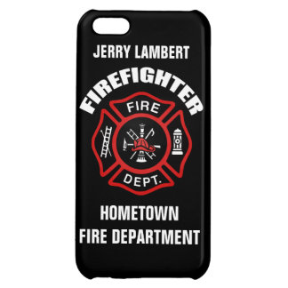 Firefighter Name Template iPhone 5C Covers