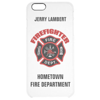Firefighter Name Template Uncommon Clearly™ Deflector iPhone 6 Plus Case