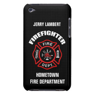 Firefighter Name Template iPod Touch Case