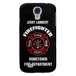 Firefighter Name Template Samsung Galaxy S4 Cover