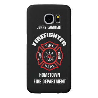 Firefighter Name Template Samsung Galaxy S6 Case