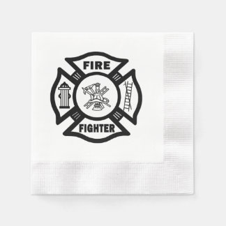 Firefighter Napkin