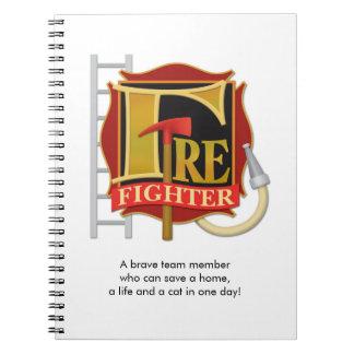 """""""Firefighter"""" Notebook"""