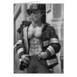 Firefighter Notecard #5 Stationery Note Card