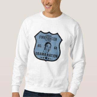 Firefighter Obama Nation Sweatshirt