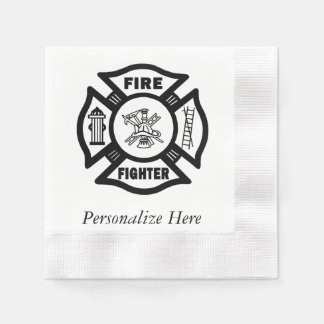 Firefighter Disposable Napkins
