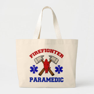 Firefighter Paramedic Tote Bags