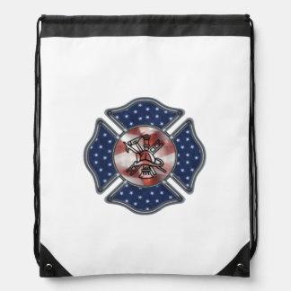 Firefighter Patriotic Backpacks