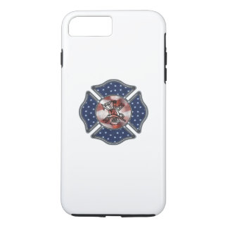 Firefighter Patriotic iPhone 7 Plus Case