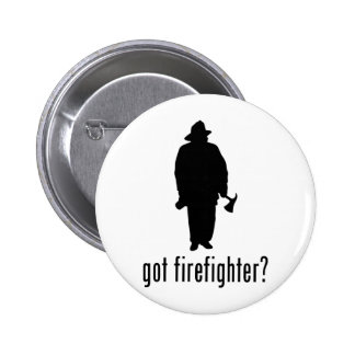 Firefighter Pinback Button
