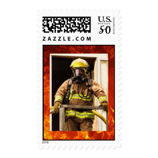Firefighter Postage