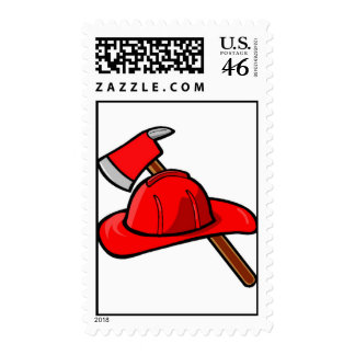 Firefighter Postage Stamps