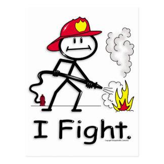 FireFighter Postcard