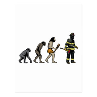 Firefighter Postcard