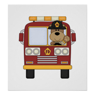 Firefighter Posters and Art