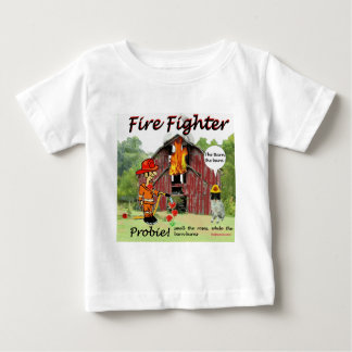 Firefighter Probie Baby T-Shirt