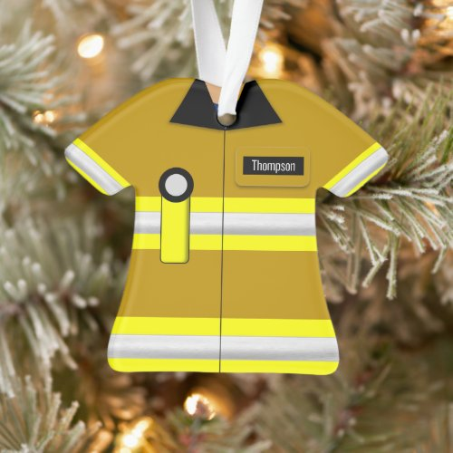 Firefighter Profession Ornament