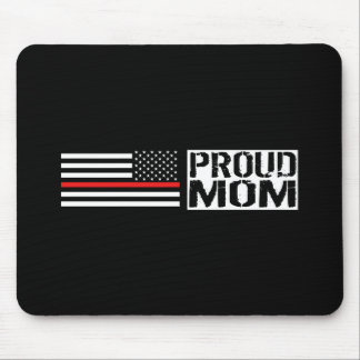 Firefighter - Proud Mom Mouse Pad