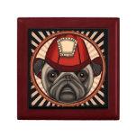 Firefighter Pug Gift Box