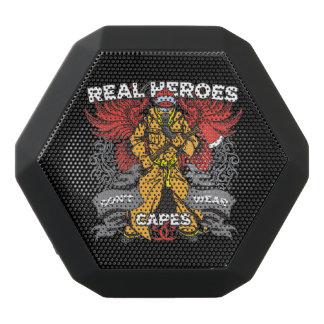 Firefighter Real Heroes Black Bluetooth Speaker