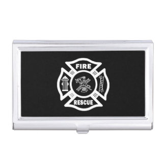 Firefighter Rescue Business Card Case