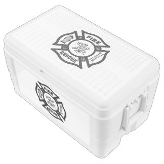 Firefighter Rescue Chest Cooler