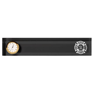 Firefighter Rescue Desk Name Plate