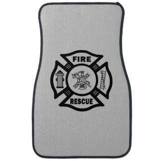 Firefighter Rescue Floor Mat