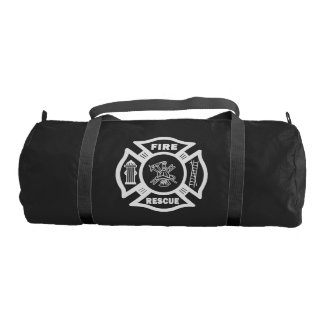 Firefighter Rescue Gym Duffel Bag