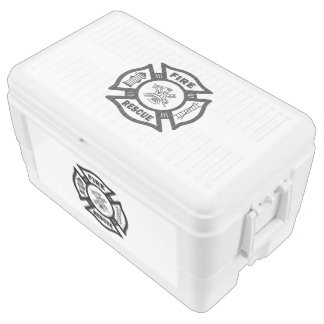 Firefighter Rescue Ice Chest