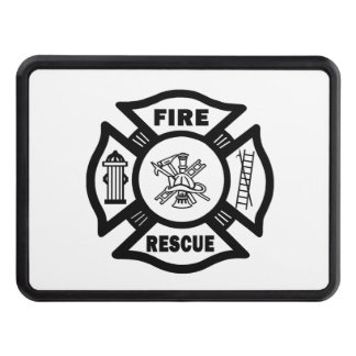 Firefighter Rescue Tow Hitch Cover