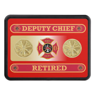 Firefighter Retired Deputy Chief's Hitch Cover