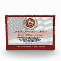 Firefighter Retirement Award