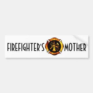 Firefighter s Mother Bumpersticker Bumper Stickers