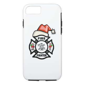 Firefighter Santa iPhone 7 Case