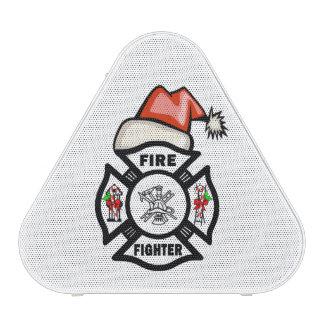 Firefighter Santa Speaker