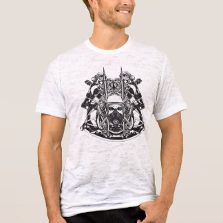 Firefighter SCBA skull shirt