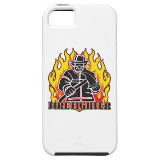 Firefighter Silhouette iPhone SE/5/5s Case