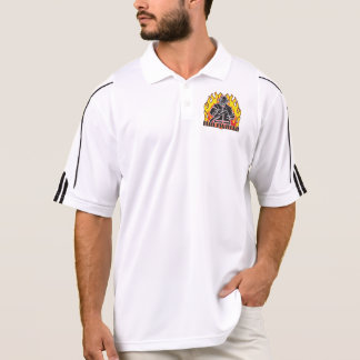 Firefighter Silhouette Polo Shirt