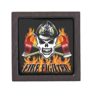 Firefighter Skull Premium Gift Boxes