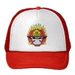 Firefighter Skull Trucker Hat