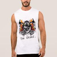 Firefighter Skulls: The Chief. Sleeveless Shirt